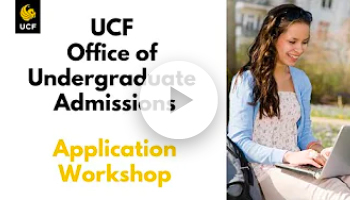 Admissions Application Workshop