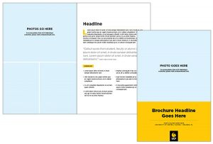 Brochures UCF Brand Guide - 8 page brochure template