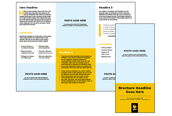UCF Trifold Brochure (.indd and .imdl)