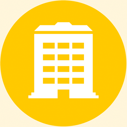 Academic building icon
