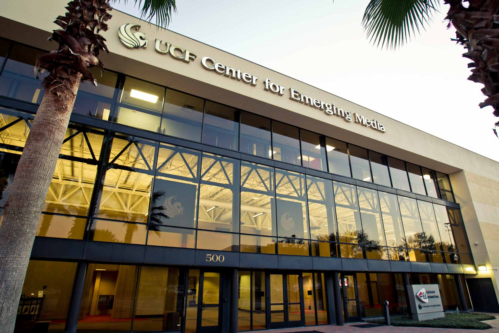 The UCF Center for Emerging Media is located in downtown Orlando and home to a variety of academic, artistic and innovative programs.