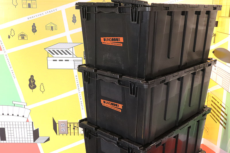 moving bins for ucf downtown employees