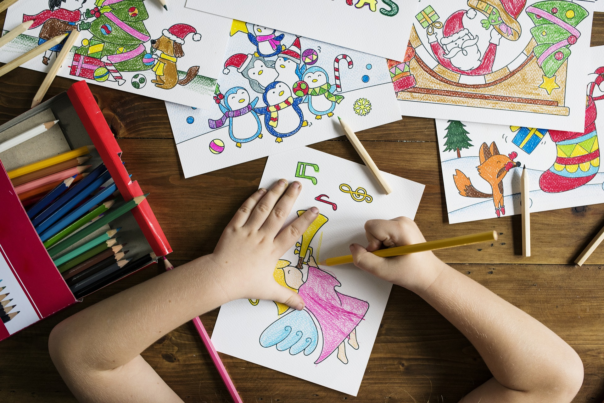 Children coloring