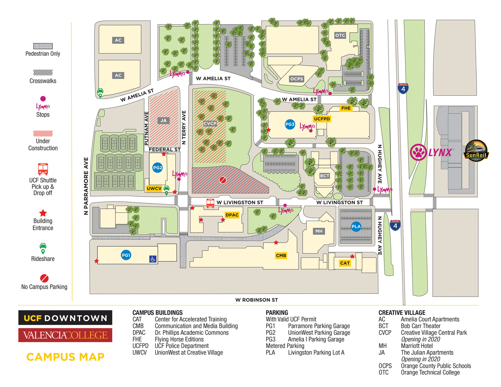 Transportation Options Parking Ucf Downtown