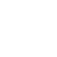 white Icon of a badge with a globe on it