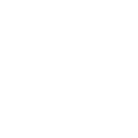 eyeball icon in white on transparent background
