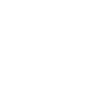 white icon of earth with piece of wheat on either side with transparent background