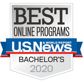 ucf best online bachelors programs 2020 badge from us news