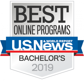 U.S. News Rankings Best Online Programs Bachelors 2019
