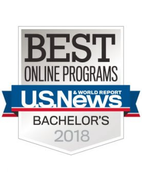 US News and World Reports Best Online Programs 2018