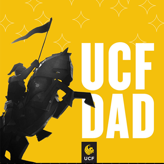 UCF Dad - Knight Statue