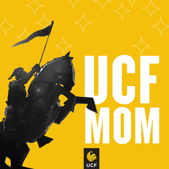 UCF Mom - Knight Statue