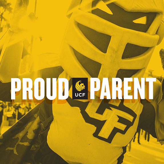 Proud UCF Parent - Knightro