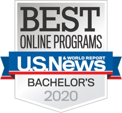 Best Online Bachelor's Degree - U.S. News & World Report 2020