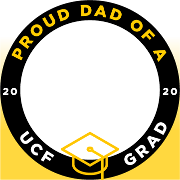ucf proud dad of a grad facebook profile frame 1