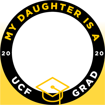 ucf my daughter is a grad facebook profile frame 1