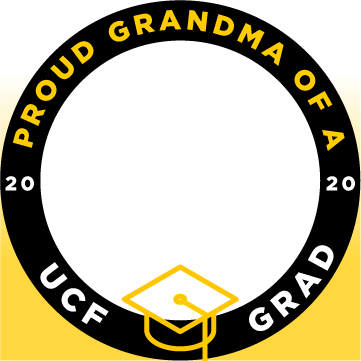 ucf proud grandma of a grad facebook profile frame 1