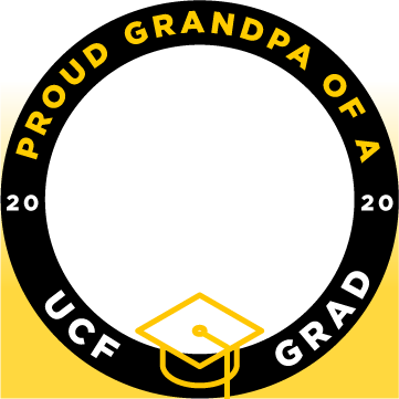 ucf proud grandpa of a grad facebook profile frame 1