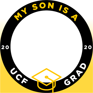 ucf my son is a grad facebook profile frame 1