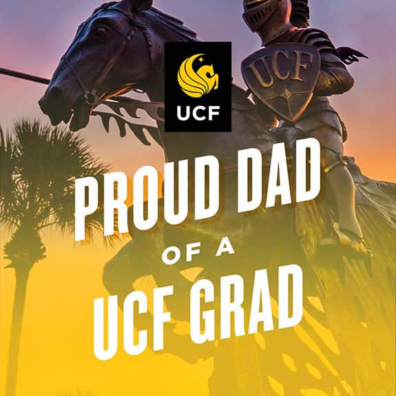 Proud UCF dad - statue
