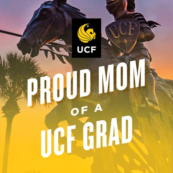 Proud UCF mom - statue