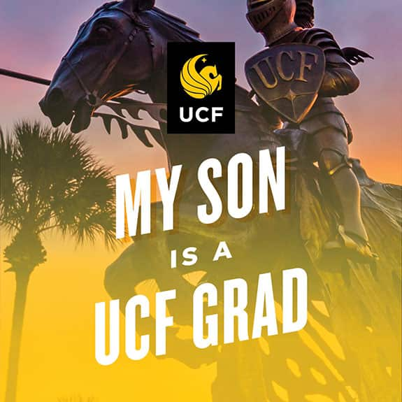 my son is a ucf grad - Statue