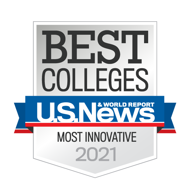 U.S. News & World Report Best Colleges - Most Innovative 2021