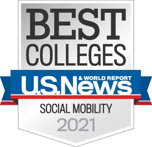 Best Colleges Social Mobility - U.S. News & World Report 2021