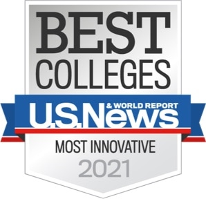 Best Colleges Most Innovative - U.S. News & World Report 2021