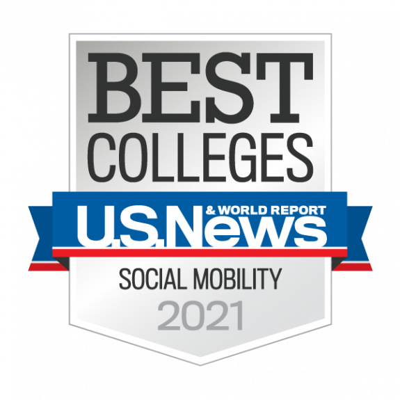 US News 2021 Best College for Social Mobility
