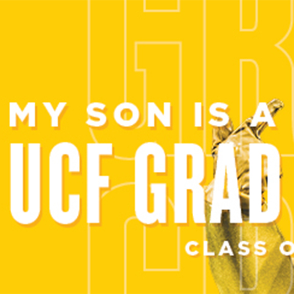 My Son is a UCF Grad Facebook Cover