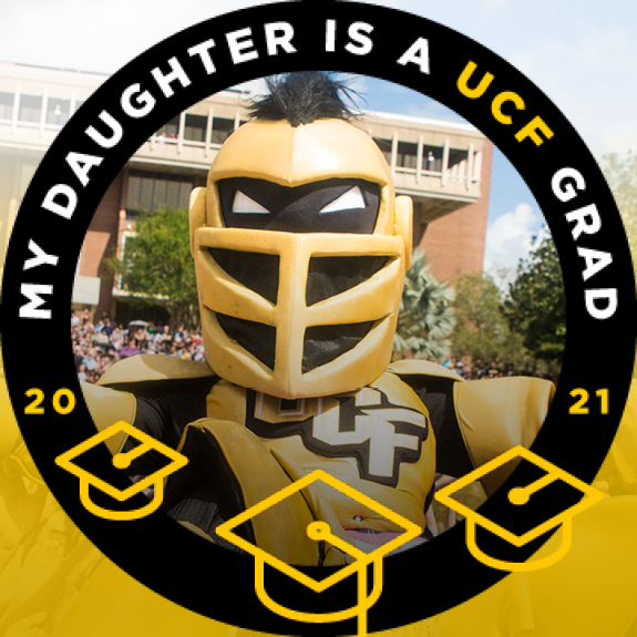 My Daughter is a UCF Grad Facebook Frame