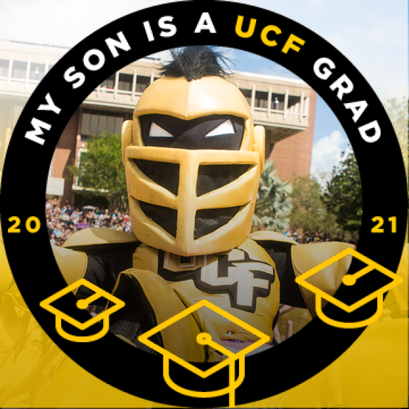 My Son is a UCF Grad Facebook Frame