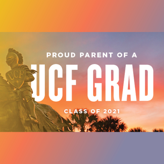 Knight Statue Proud Parent of a UCF Grad Facebook Cover