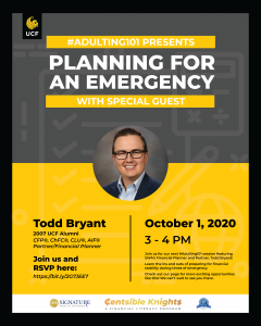 Planning for an Emergency with Todd Bryant