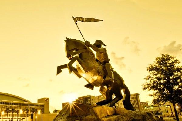 UCF Knights Pegasus Statue