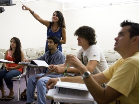 Dr. Debora Cordeiro-Rosa leads the Summer Intensive Portuguese Language Institute for engineering students.