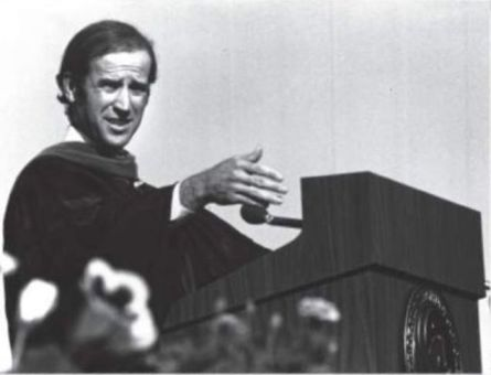 Joe Biden FTU's Last Commencement Speaker