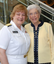 Navy's First Female Rear Admiral