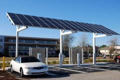 New Solar Charging Station On Campus