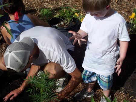 Tiny Green Thumbs Learn Organic Gardening at UCF