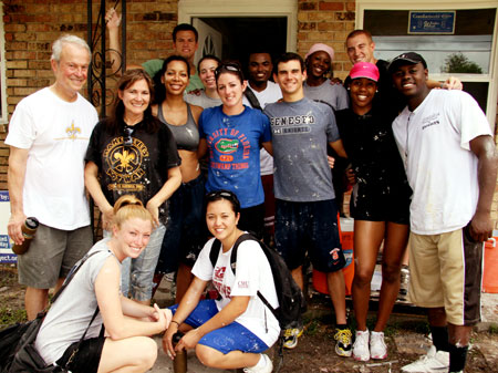 DeVos Students Continue to Help New Orleans   University of