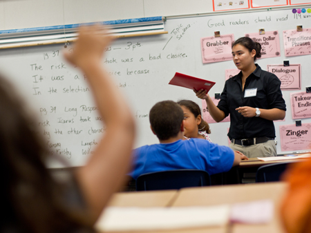 Helping Elementary Students Stay in School, Aspire to College