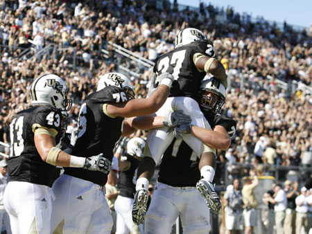 UCF Football Earns First National Ranking