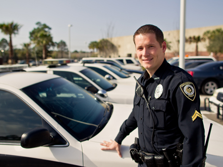 UCF Police Officer Honored for Saving Man's Life
