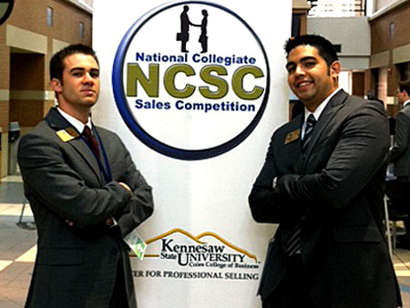 The UCF Professional Selling team came in third place at the National Collegiate Sales Competition (NCSC) recently held at Kennesaw State University.