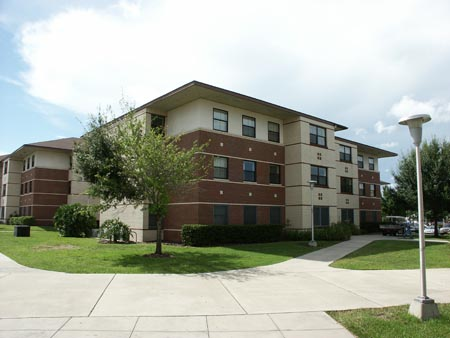 On-campus Lake Claire Community