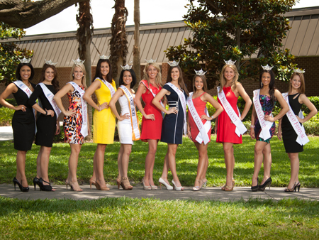Eleven UCF Women Vie for Miss Florida Title