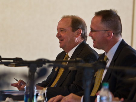 Board of Trustees Elects New Leaders