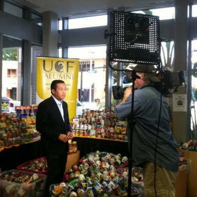 UCF Food Pantry Featured on NBC Nightly News UCF News